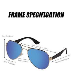 MS Polarizer Aviator Sunglasses for Mens Womens
